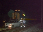 CSX 4782 shoves a new Toyota down the tracks
